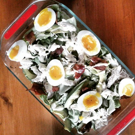 Summer Salad For Protein Peeps